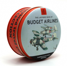 Simpkins Ladybird Book Travel Sweets Tin - Budget Airlines